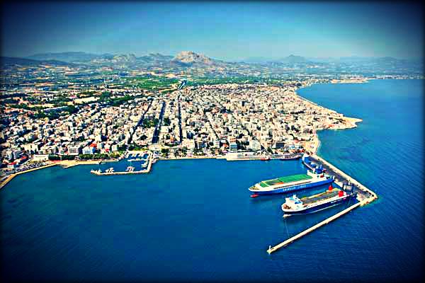Corinth town